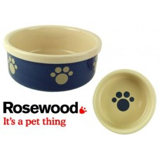 Blue/Beige Pet Bowl 7
