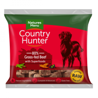 Country Hunter Raw Superfood Nuggets Grass Fed Beef 1kg