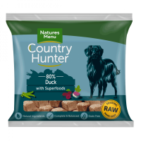 Country Hunter Raw Superfood Nuggets Succulent Duck