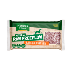 Freeflow Raw Lamb and Chicken Mince 2kg