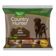 Country Hunter Raw Superfood Nuggets Full Flavoured Rabbit