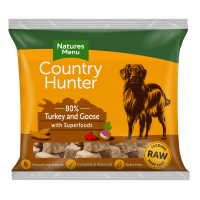 Country Hunter Raw Superfood Nuggets Turkey & Goose