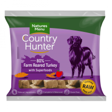Country Hunter Raw Superfood Nuggets Farm Reared Turkey