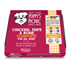 Chicken, Tripe and Bone Complete Raw 450g