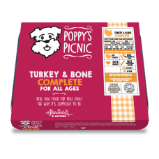Turkey and Bone Complete Raw 450g
